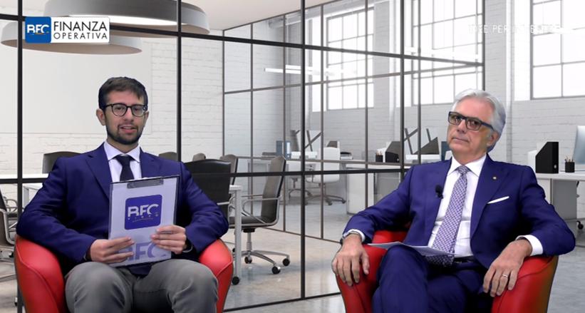 """Sergio-Bommarito,-Presidente-di-FireGroup,--in-studio-a-""""Finanza-Operativa---Idee-per-Investire"""""""